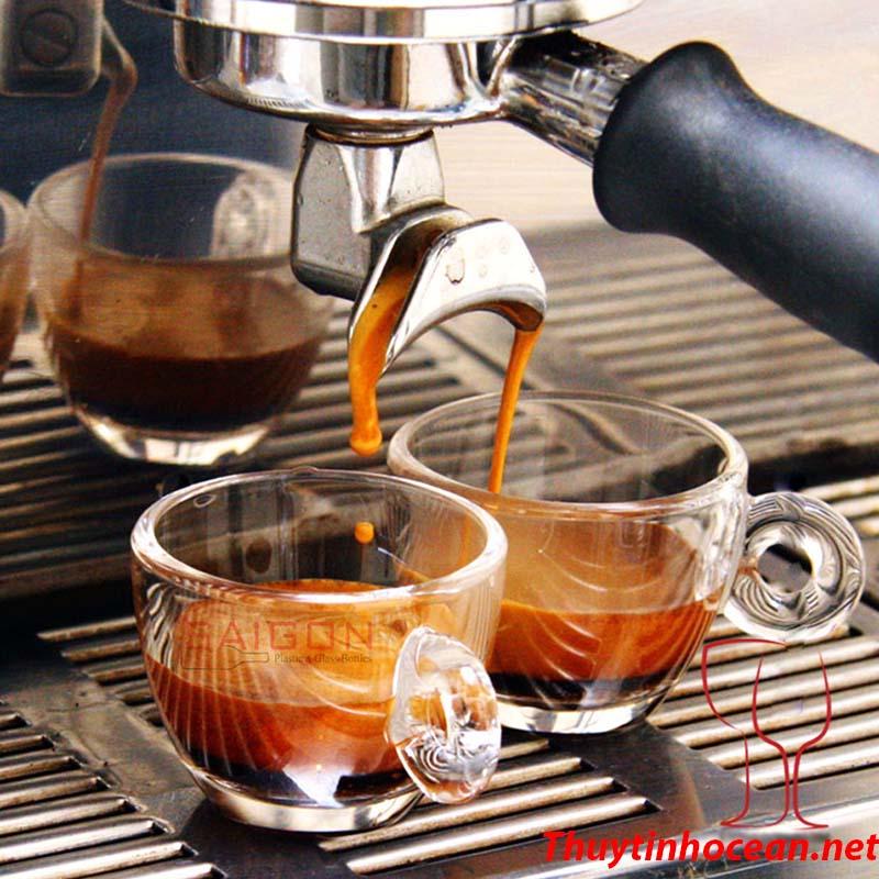 Tách thủy tinh Ocean CAFFE LATTE-260ML