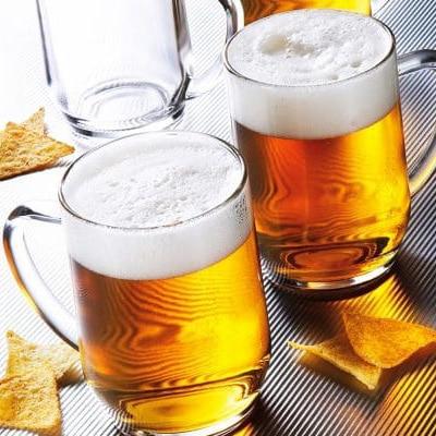 giá ly thủy tinh uống bia