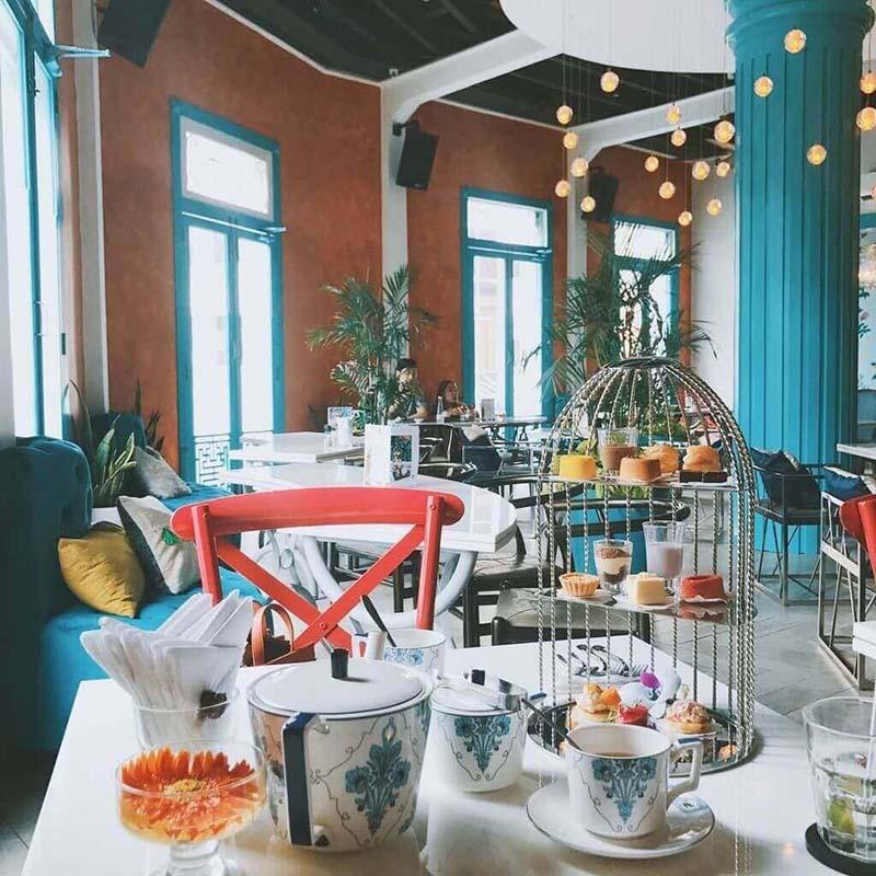 Quán cafe quận 1 Heritage Concept Chill Hub – đẹp khó cưỡng.