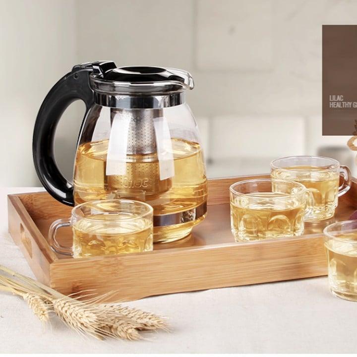 Bộ ấm trà thủy tinh có sức hút như thế nào tại tphcm?