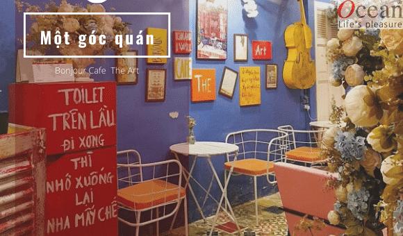 Review Bonjour cafe the art – Quán cafe mang nét đẹp độc đáo giữa lòng SÀI GÒN