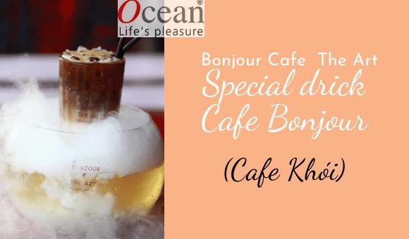 Quán cafe Bonjour Cafe The Art – Nét đẹp độc đáo giữa lòng SÀI GÒN