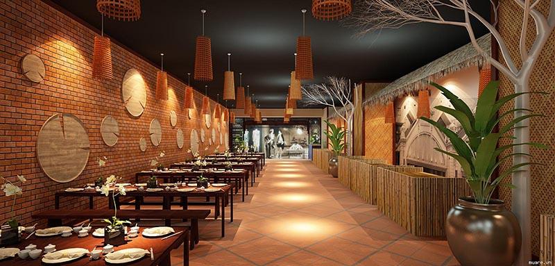 Gợi ý trang trí nhà hàng ăn uống đặc biệt là nhà hàng sắp khai trương