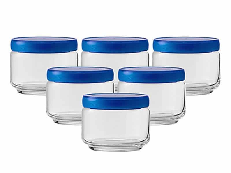 5B02511Nhua Stax Jar Nắp Nhựa Màu 325 M