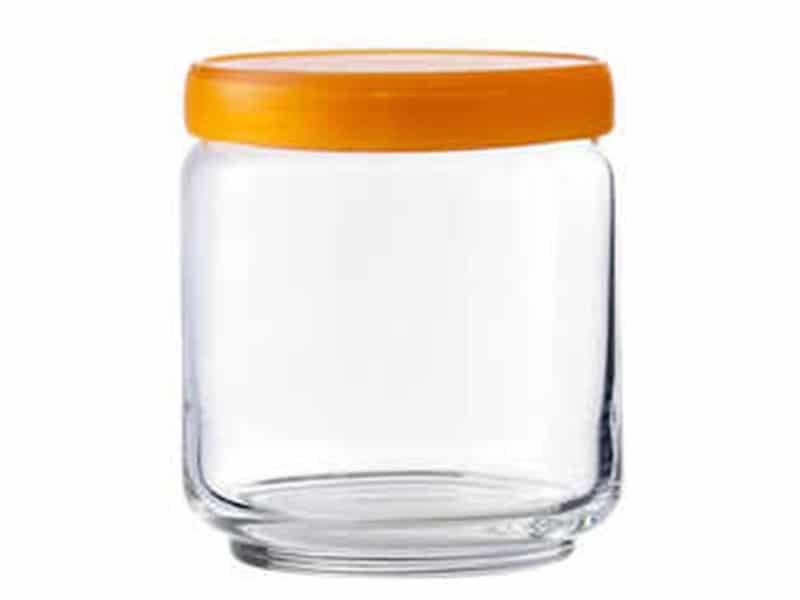 5B02517 Stax Jar Nắp Nhựa Màu 500 Ml