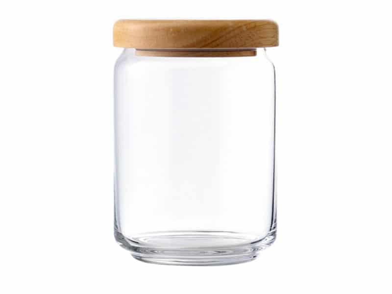 Hũ STAX JAR nắp nhựa màu -750 ml
