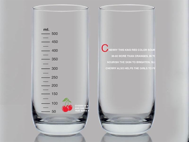 Top Drink Ly Vạch 625 Ml Cherry